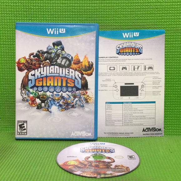 Skylanders: Giants (Game Only) - Nintendo Wii U | Disc Plus