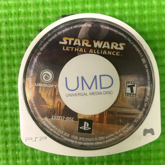 Star Wars Lethal Alliance - Sony PSP | Disc Only
