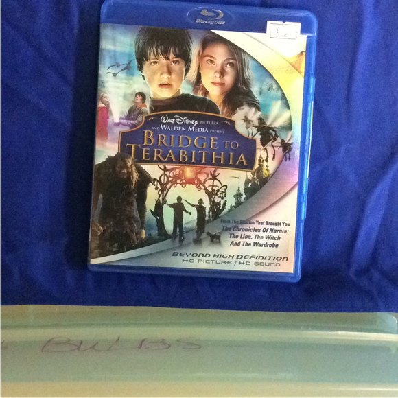 Bridge To Terabithia - Blu-ray Action/Adventure 2007 PG | Disc Plus