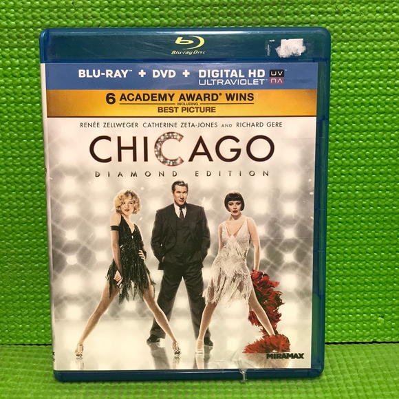 Chicago Diamond Edition - Blu-ray Musical 2002 PG-13 | Disc Plus