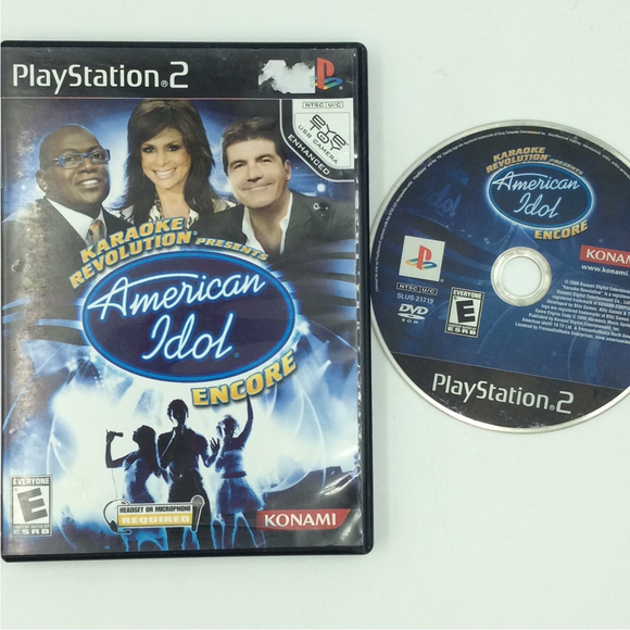 Karaoke Revolution Presents American Idol Encore - Sony PS2 Playstation 2 | Disc Plus
