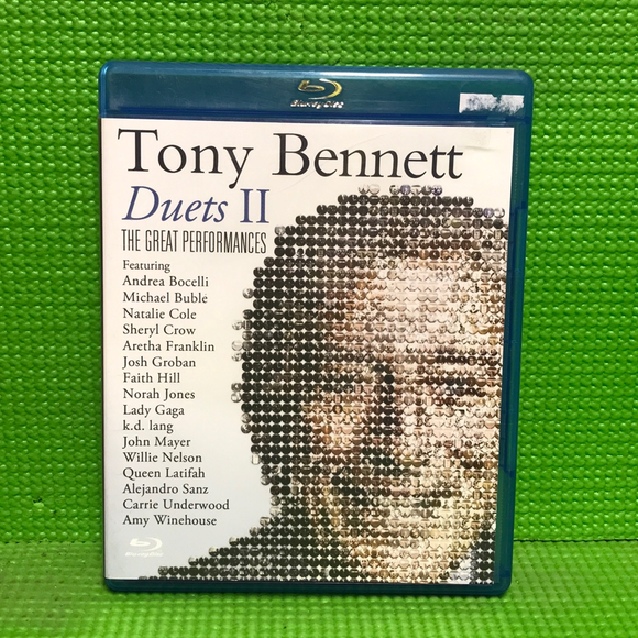 Tony Bennett: Duets II: The Great Performances - Blu-ray Music UNK NR | Disc Plus
