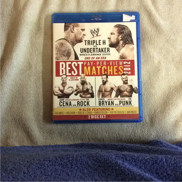 WWE: Best Pay-Per-View Matches 2012 - Blu-ray Exercise 2012 NR | Disc Plus
