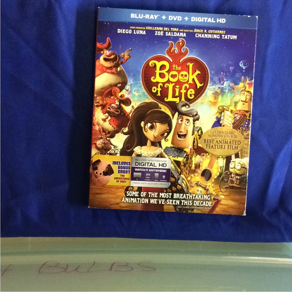 Book Of Life - Blu-ray Animation 2014 PG | Disc Plus