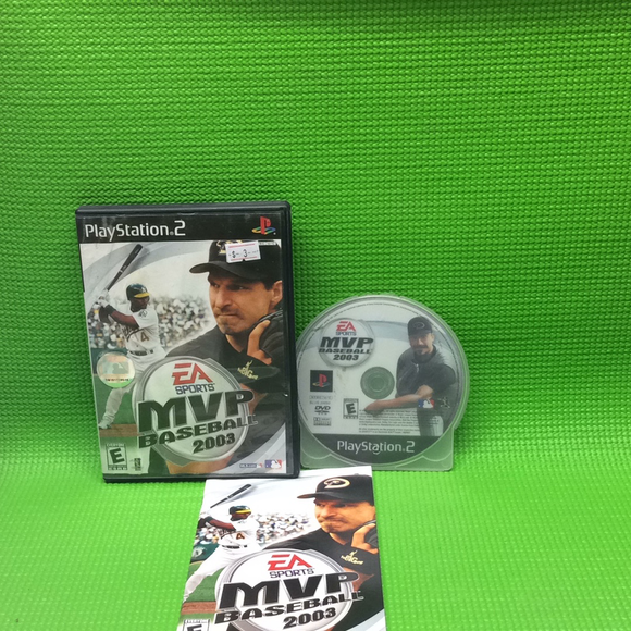 MVP Baseball 2003 - Sony PS2 Playstation 2 | Disc Plus