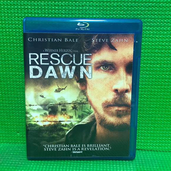 Rescue Dawn - Blu-ray War 2006 PG-13 | Disc Plus