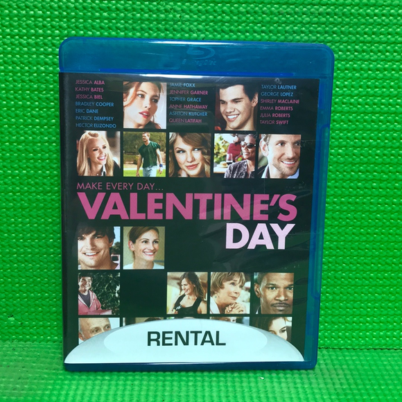 Valentine's Day - Blu-ray Comedy 2010 PG-13 | Disc Plus
