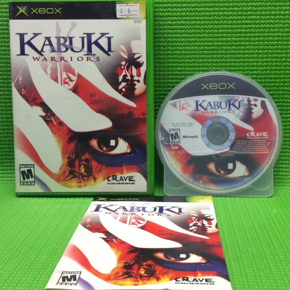 Kabuki Warriors - Microsoft Xbox | Disc Plus