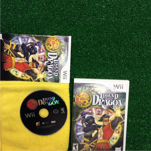 Legend of the Dragon - Nintendo Wii | Disc Plus