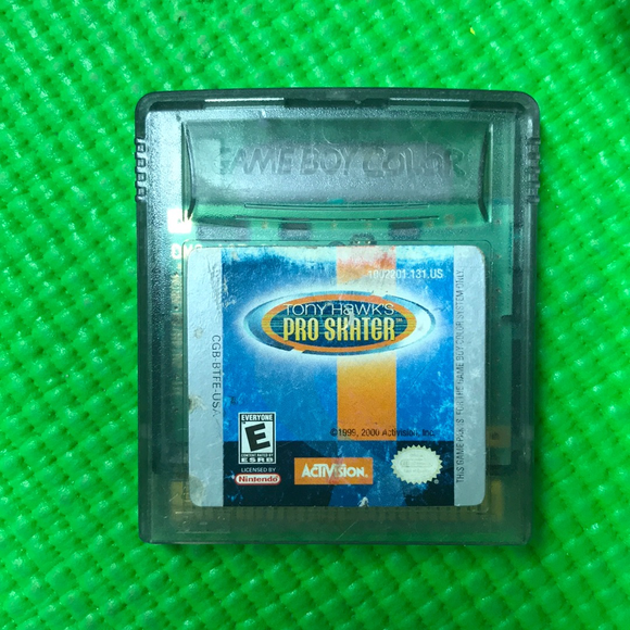 Tony Hawk's Pro Skater - Nintendo Gameboy Color | Cartridge Only
