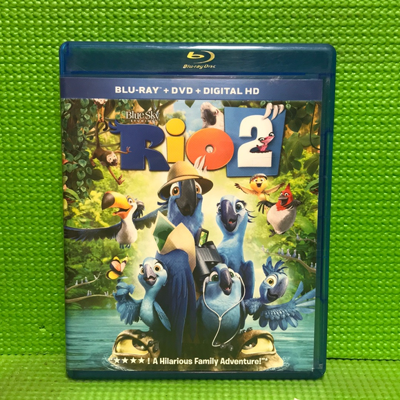 Rio 2 - Blu-ray Animation 2014 G | Disc Plus