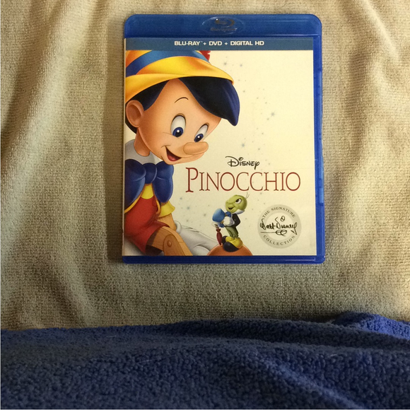 Pinocchio Signature Collection - Blu-ray Animation 1940 G | Disc Plus