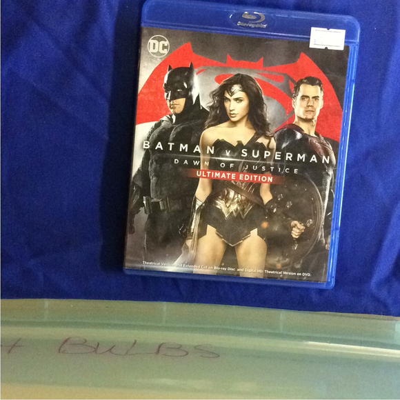 Batman V Superman: Dawn Of Justice Ultimate Edition - Blu-ray Action/Adventure 2016 VAR | Disc Plus