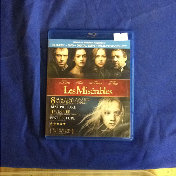 Les Miserables - Blu-ray Musical 2012 PG-13 | Disc Plus