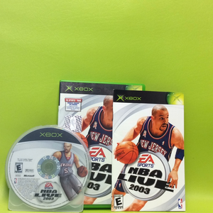 NBA Live 2003 - Microsoft Xbox | Disc Plus