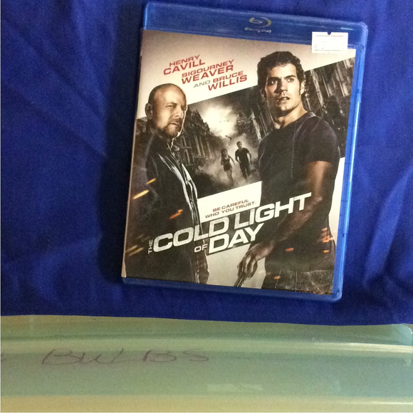 Cold Light Of Day - Blu-ray Action/Adventure 2012 PG-13 | Disc Plus