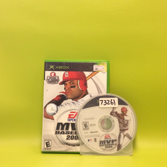 MVP Baseball 2004 - Microsoft Xbox | Disc Plus