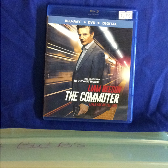 Commuter - Blu-ray Action/Adventure 2018 PG-13 | Disc Plus