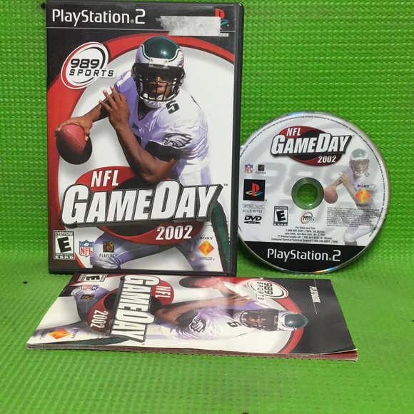 NFL GameDay 2002 - Sony PS2 Playstation 2 | Disc Plus