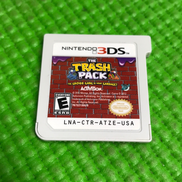 Trash Pack, The: The Gross Gang in Your Garbage - Nintendo 3DS | Cartridge Only