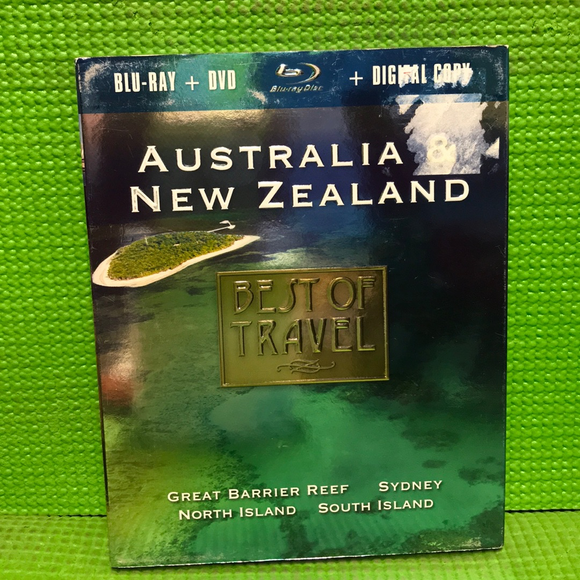 Best Of Travel: Australia & New Zealand - Blu-ray Special Interest UNK NR | Disc Plus