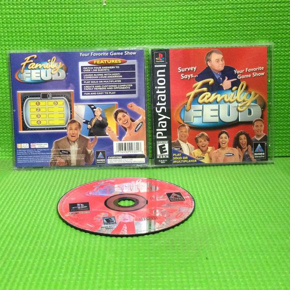 Family Feud - Sony PS1 Playstation 1 | Disc Plus