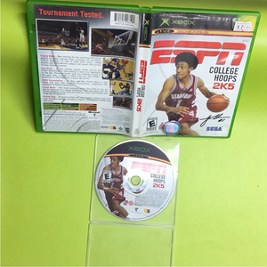 ESPN College Hoops 2K5 - Microsoft Xbox | Disc Plus