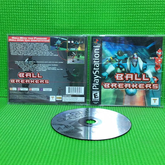 Ball Breakers - Sony PS1 Playstation 1 | Disc Plus