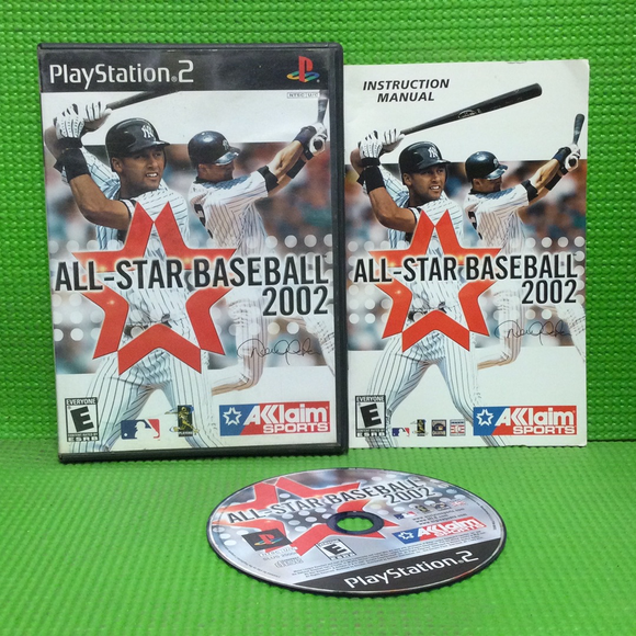 Allstar Baseball 2002 - Sony PS2 Playstation 2 | Disc Plus