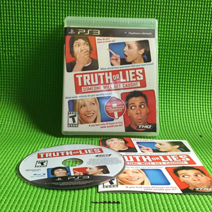 Truth or Lies: Someone Will Get Caught - Sony PS3 Playstation 3 | Disc Plus