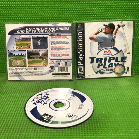 Triple Play Baseball - Sony PS1 Playstation 1 | Disc Plus