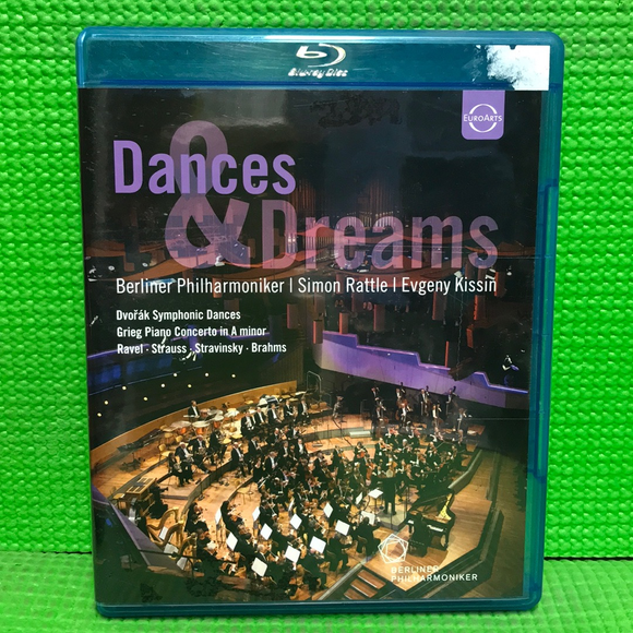 Dances & Dreams: The Berliner Philharmoniker And Simon Rattle - Blu-ray Music 2012 NR | Disc Plus