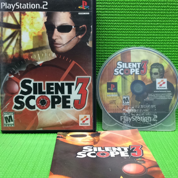 Silent Scope 3 - Sony PS2 Playstation 2 | Disc Plus