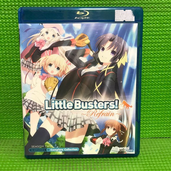 Little Busters!: Season 2: Refrain: Complete Collection - Blu-ray Anime 2013 MA13 | Disc Plus