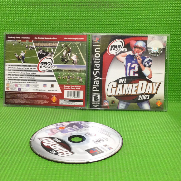 NFL Gameday 2003 - Sony PS1 Playstation 1 | Disc Plus