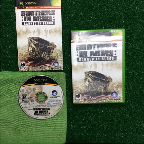 Brothers in Arms: Earned in Blood - Microsoft Xbox | Disc Plus