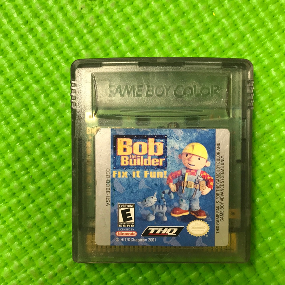 Bob the Builder - Nintendo Gameboy Color | Cartridge Only