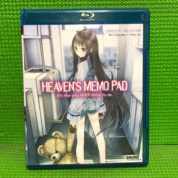 Heaven's Memo Pad: The Complete Collection - Blu-ray Anime 2011 MA13 | Disc Plus
