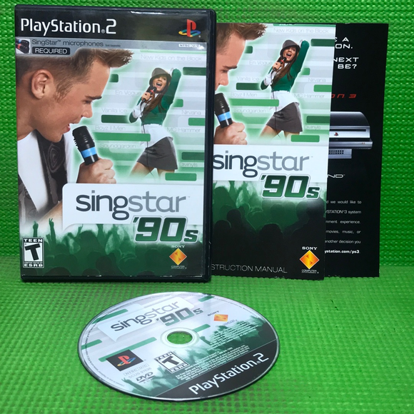 Singstar 90s - Sony PS2 Playstation 2 | Disc Plus