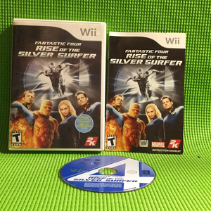 Fantastic Four: Rise of the Silver Surfer - Nintendo Wii | Disc Plus