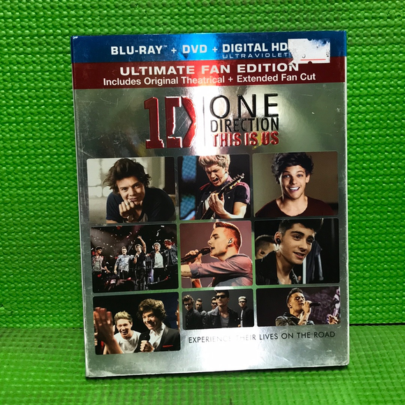 One Direction: This Is Us Ultimate Fan Edition - Blu-ray Music 2013 VAR | Disc Plus