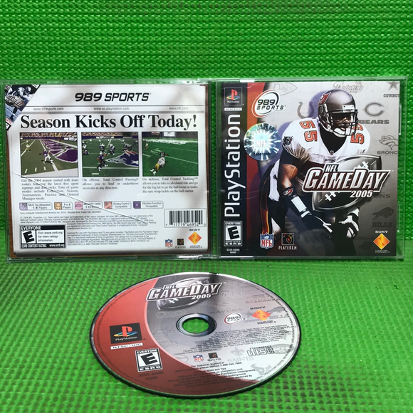 NFL Gameday 2005 - Sony PS1 Playstation 1 | Disc Plus
