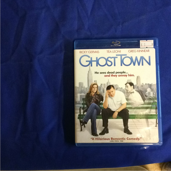 Ghost Town - Blu-ray Comedy 2008 PG-13 | Disc Plus