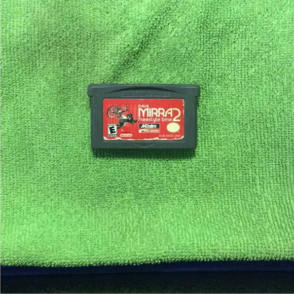 Dave Mirra Freestyle BMX 2 - Nintendo GBA Gameboy Advance | Cartridge Only