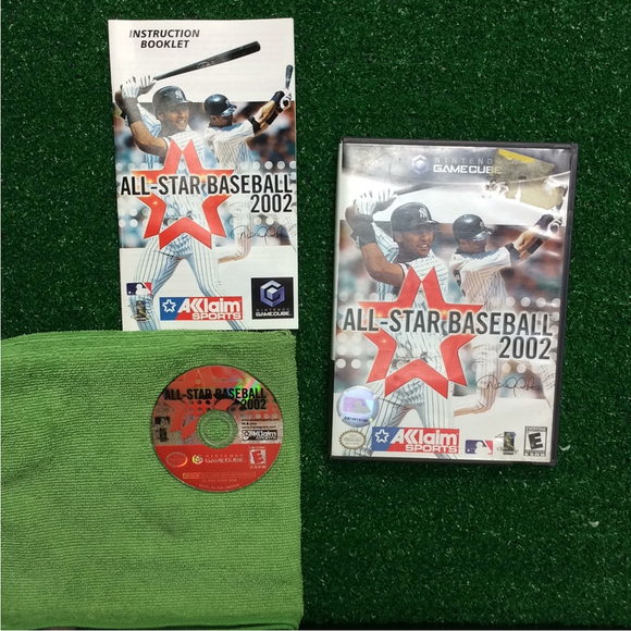 All-Star Baseball 2002 - Nintendo Gamecube | Disc Plus