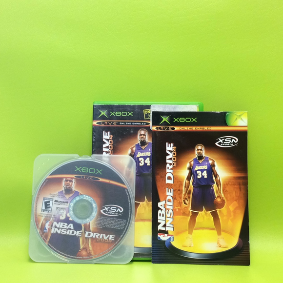 NBA Inside Drive 2004 - Microsoft Xbox | Disc Plus