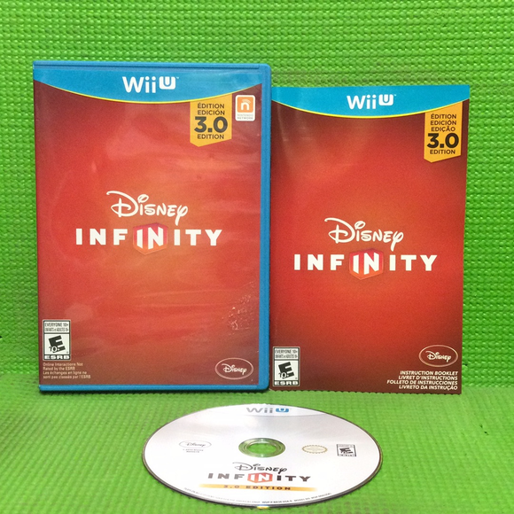 Disney Infinity 3.0 (Game Only) - Nintendo Wii U | Disc Plus