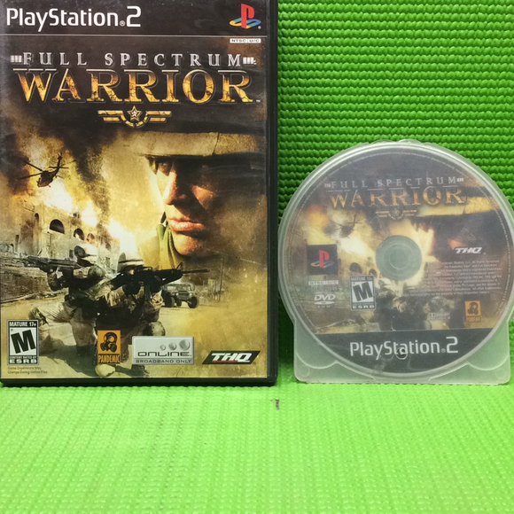 Full Spectrum Warrior - Sony PS2 Playstation 2 | Disc Plus