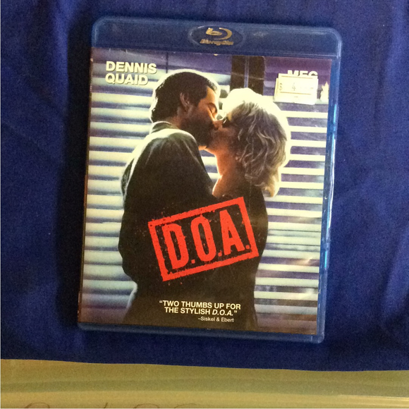 D.O.A. - Blu-ray Mystery/Suspense 1988 R | Disc Plus