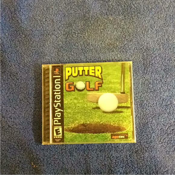 Putter Golf - Sony PS1 Playstation 1 | Disc Plus